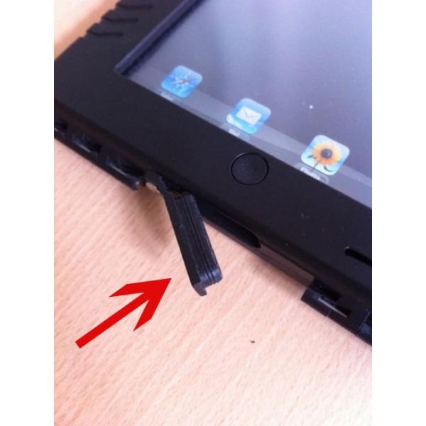 Bouchon prise alim iPad Case