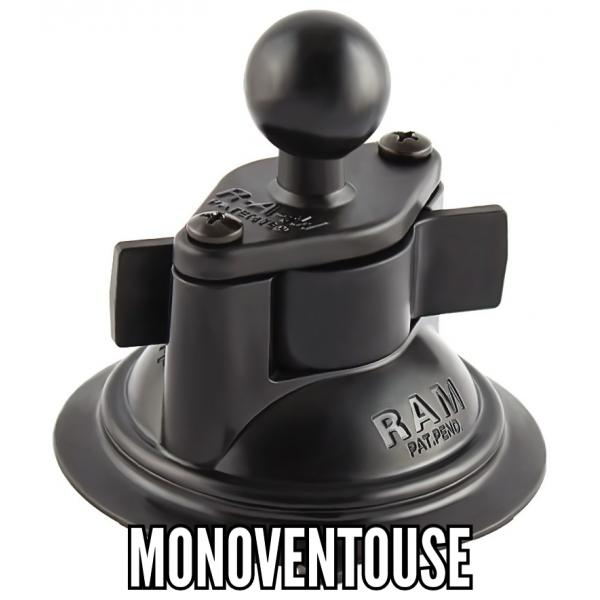 Fixation monoventouse