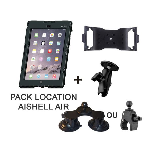 Location week-end pack aiShell + fixation