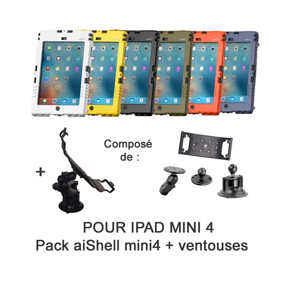 Pack aiShell mini4 + ventouse