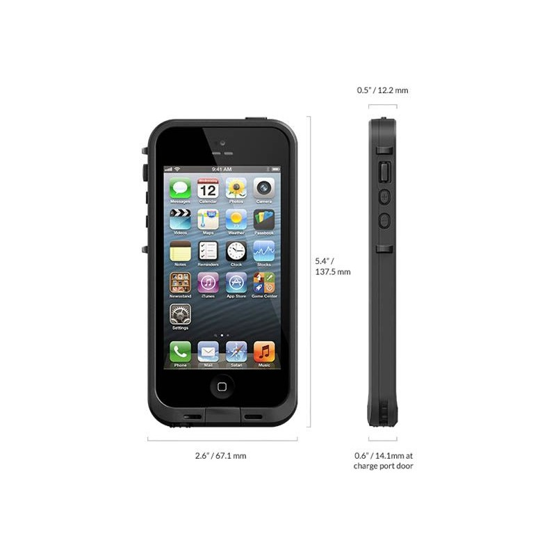 Housse tanche lifeproof ip68 pour iphone 5 5s for Housse etanche iphone
