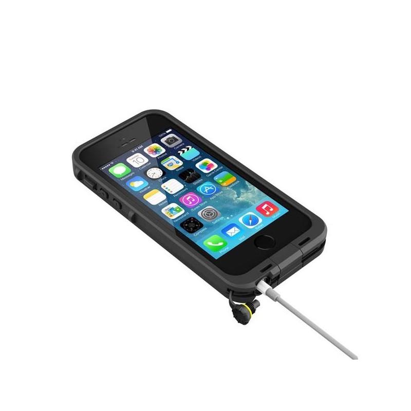 Housse tanche lifeproof ip68 pour iphone 5s avec touch id for Housse etanche pour iphone