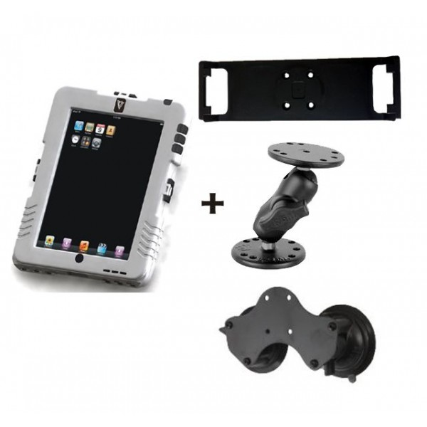 Pack iPad Case + fixation ventouse
