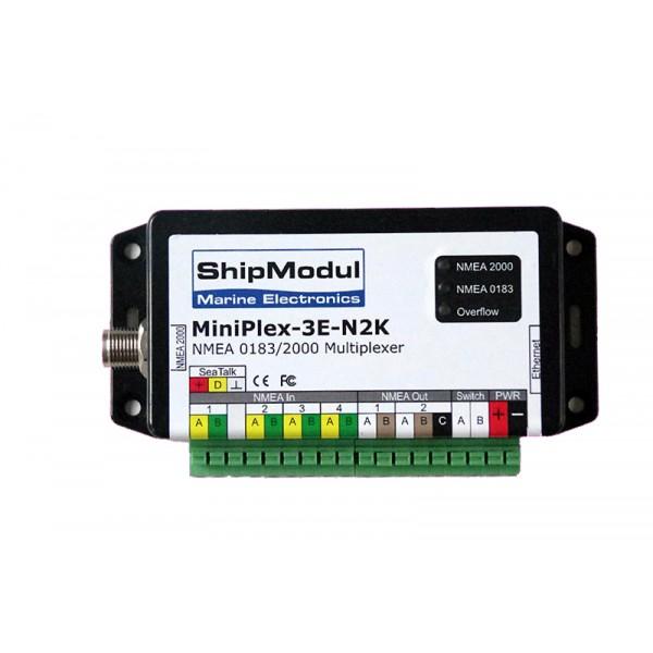Miniplex-3E-N2K - Multiplexeur Ethernet NMEA 0183/2000