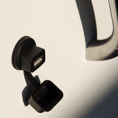 Prise cockpit USB étanche