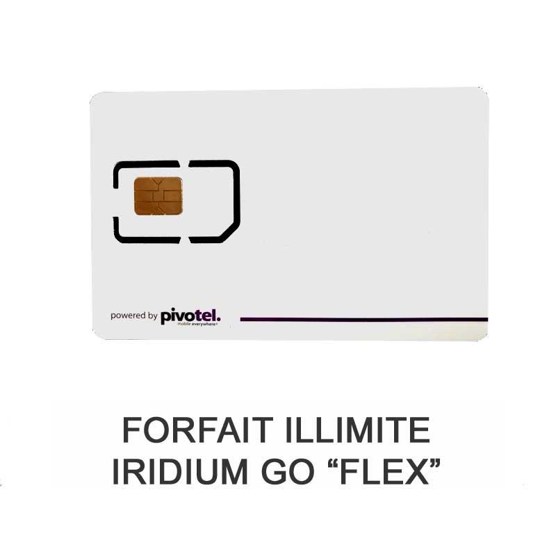 Forfait Iridium Go Flex