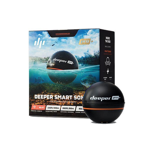 Deeper Smart Sonar Pro+ avec GPS