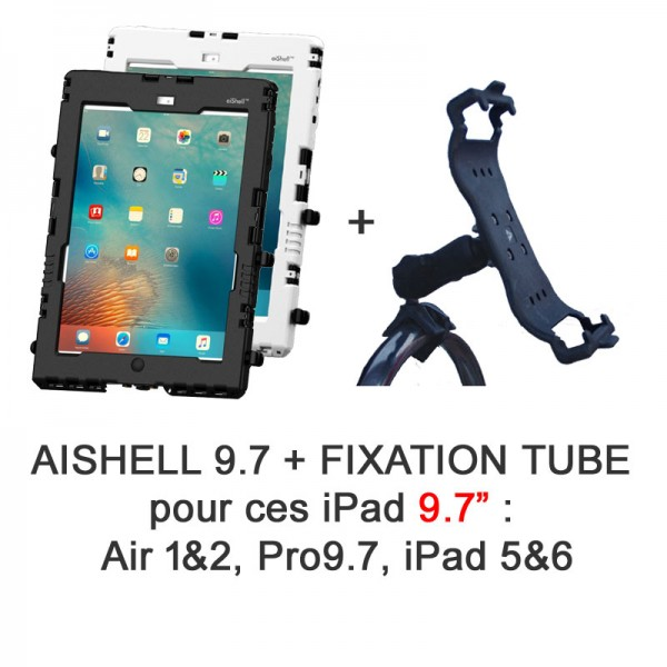 Pack aiShell 9.7 + fixation sur tube