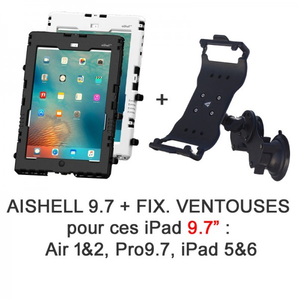 Pack aiShell 9.7 + fixation ventouses