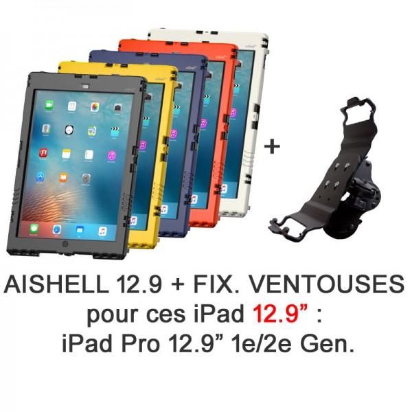 Pack aiShell Pro + fixation ventouses