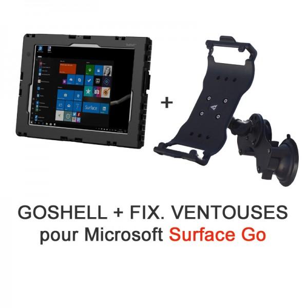 Pack GoShell + fixation ventouses