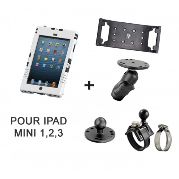 Pack aiShell (iPad mini) + fixation tube