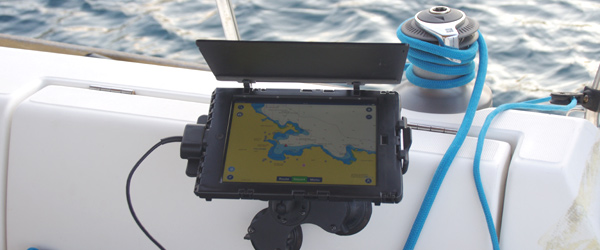 iPad recharge Car Cradle
