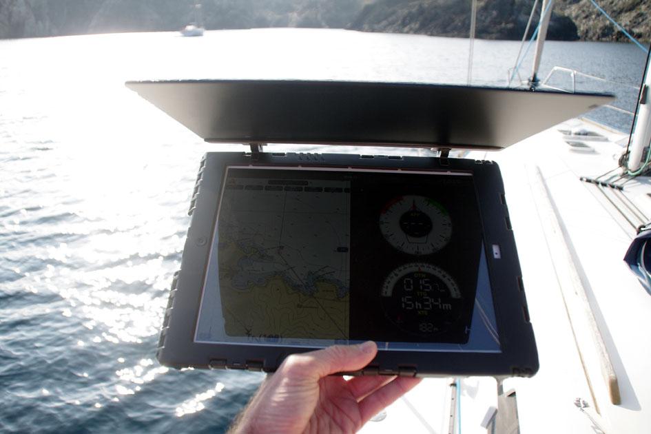 pare soleil iPad
