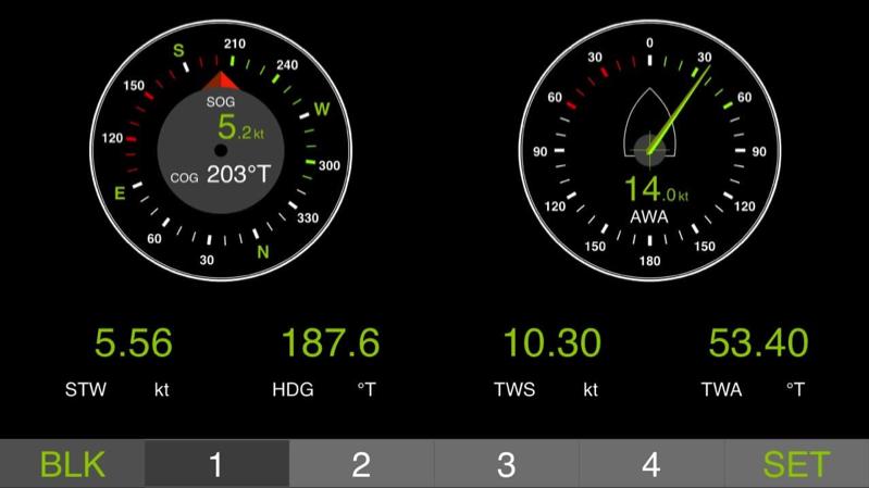 Cadrans instruments de navigation