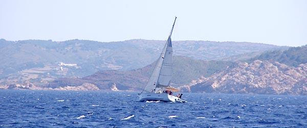 mer agitée aux Baléares
