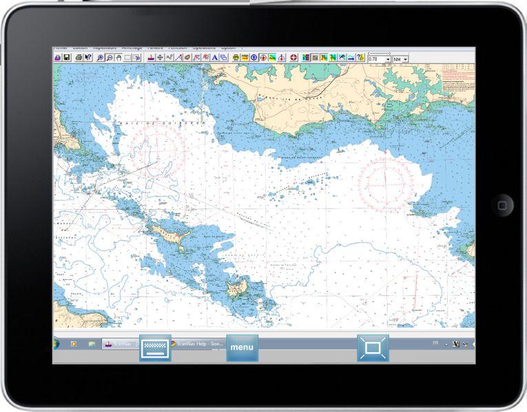 Scannav sur iPad - CR F. Fustier