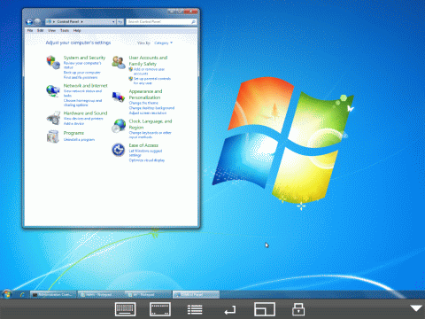 Windows 7 sur iPad