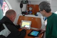 Des stages de nav iPad en Méditerranée et Atlantique